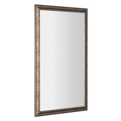 SAPHO ROMINA zrcadlo v dřevěném rámu 580x980mm, bronzová patina NL398
