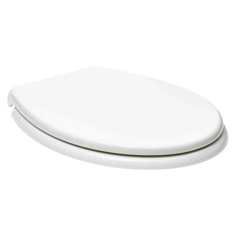 WC prkénko Glacera duroplast bílá BABYNEW