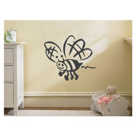 Samolepka na zeď Včela 002