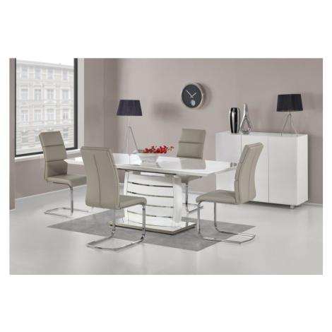 Jídelní stůl rozkládací ONYX bílý Halmar