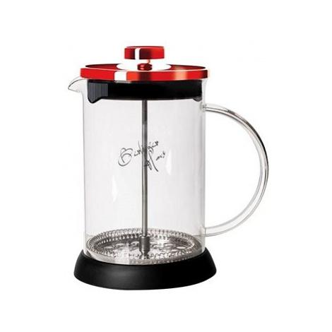 BerlingerHaus Konvička na čaj a kávu French Press 800 ml Burgundy Metallic Line Berlinger Haus