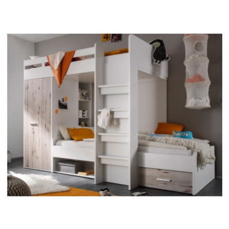 Dvoupatrová úložná postel Maxi ASKO - NÁBYTEK