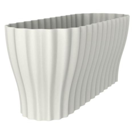 Nohel Garden Truhlík TRIOLA ORCHID plastový bílý 38 cm PLASTIA