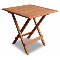 Zahradní odkládací stolek akáciové dřevo Dekorhome