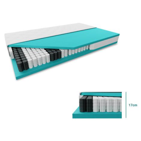 Taštičková matrace SOMNIA 17 cm 80 x 200 cm Ochrana matrace: VČETNĚ chrániče matrace