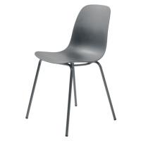 Furniria Designová židle Jensen šedá