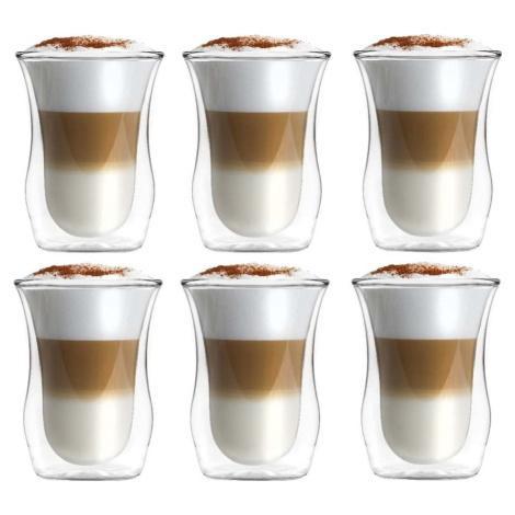 Sada 6 dvoustěnných sklenic Vialli Design, 300 ml
