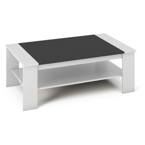 BAKER konferenční stolek, bílá/černá