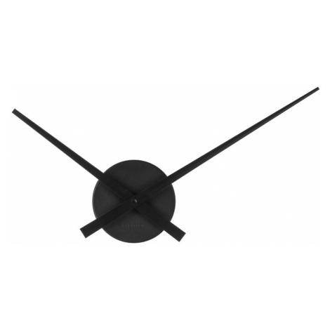 Nástěnné hodiny Karlsson Little Big Time Mini 44 cm | černé