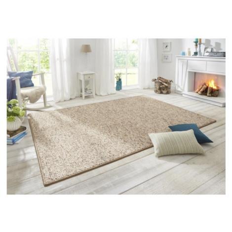 Moderní kusový koberec Wolly 102842   béžový Typ: 140x200 cm Hanse Home