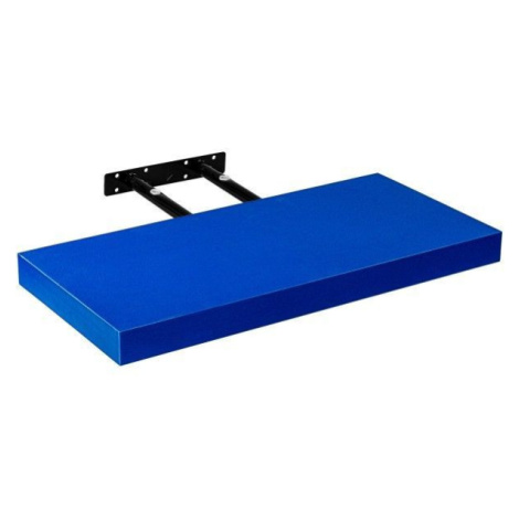 STILISTA VOLATO 31055 Nástěnná police - modrá 70 cm