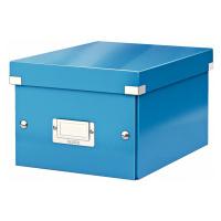 Modrá úložná krabice Leitz Universal, délka 28 cm