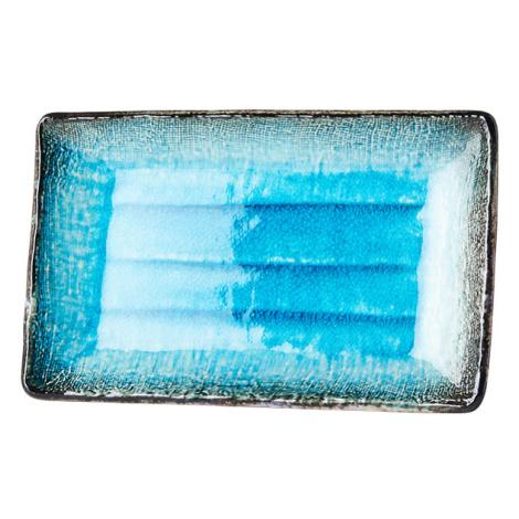 Talíř na sushi Sky Blue 21,5 x 13 cm MIJ