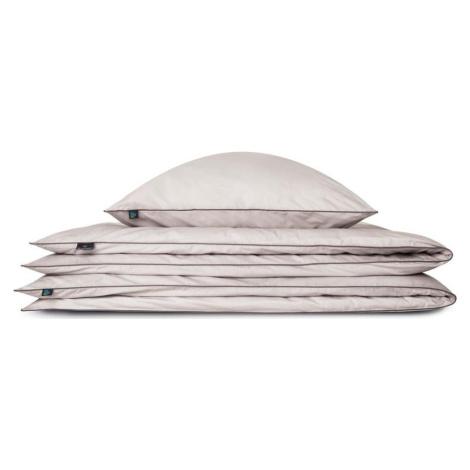 Světle šedý bavlněný povlak na polštář WeLoveBeds Perla, 70 x 80 cm