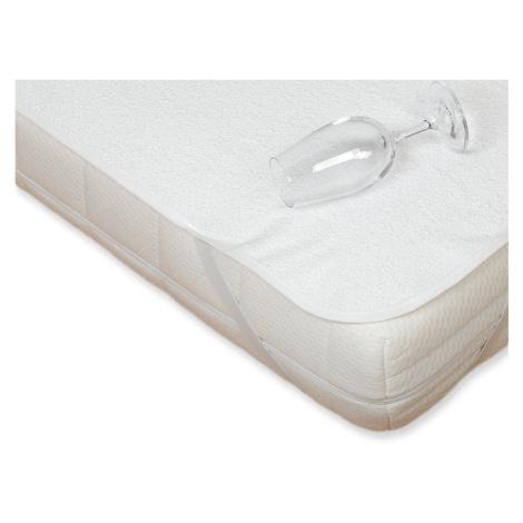 Nepropustný chránič matrace FROTÉ na postýlku 70 x 140 cm