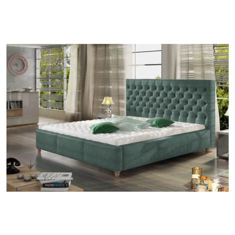 Confy Designová postel Kamari 160 x 200 - 9 barevných provedení