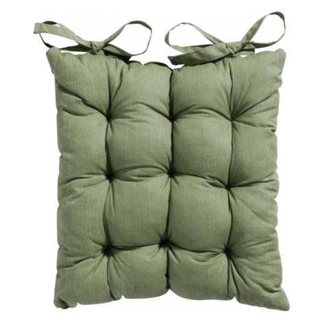 Podsedák na židli prošívaný 46x46cm zelený NOVAline