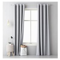 Jednobarevný závěs AURA Light Grey 1x 140x250cm