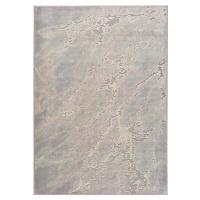 Šedo-béžový koberec z viskózy Universal Margot Marble, 140 x 200 cm