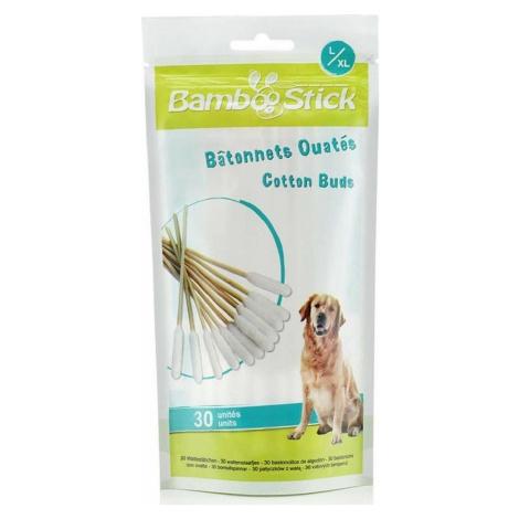 BambooStick Tyčinky na čištění uší pro psy 30 ks