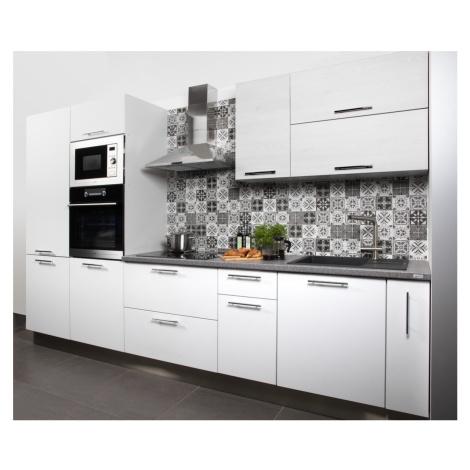 Kuchyňská linka Naturel Gia 320x219x60 cm mat bílá GIASET10