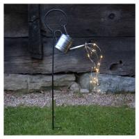 Best Season Solární LED světlo Dew Drop Water Can