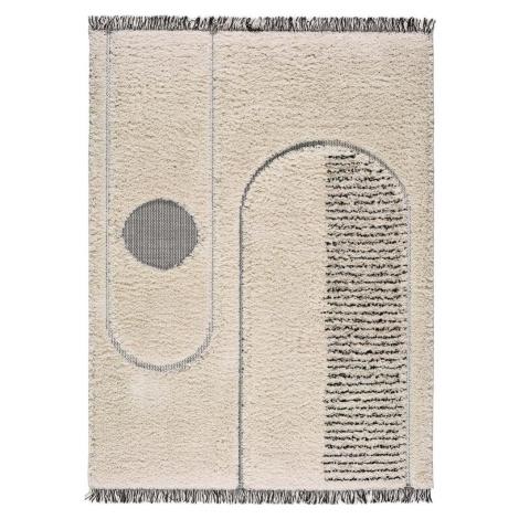 Béžový koberec Universal Horizon Line, 76 x 150 cm