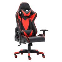 Kancelářské / herní křeslo s Bluetooth reproduktory, černá / červená, CARPI