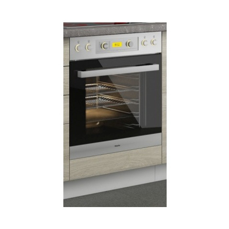 Kuchyňská skříňka pro vestavnou troubu Latte 60DG, dub latte/bílá, šířka 60 cm ASKO - NÁBYTEK