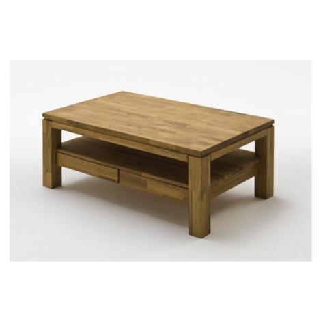 Konfereční stolek - dřevěný konferenční stolek alkor - 115x45x70 (dub, hnědá) MC AKCENT