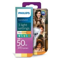 LED Žárovka Philips SCENE SWITCH GU10/5W/230V 2200K