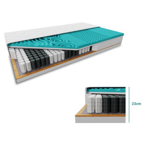 Kokosová matrace COCO MAXI 23 cm 160 x 200 cm Ochrana matrace: VČETNĚ chrániče matrace