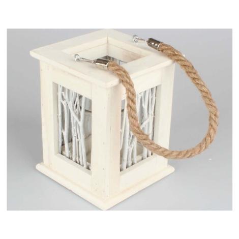Dřevěná závěsná lucernička Dakls Abram