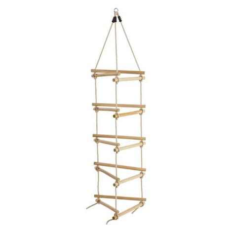 Dřevěný 3-stranný závěsný žebřík Asko