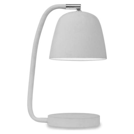 Šedá stolní lampa Citylights Newport
