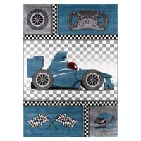 Dětský kusový koberec Kids 460 Blue | modrý Typ: 160x230 cm