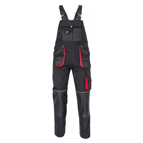 Kalhoty laclové FF Carl be-01-004 černá/červená 48 Červa