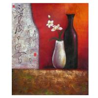 Obraz - Zátiší s květinou