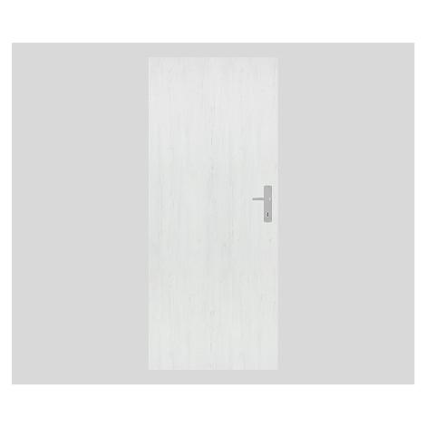 Protipožární dveře Naturel Technické levé 90 cm borovice bílá DPOBB90L