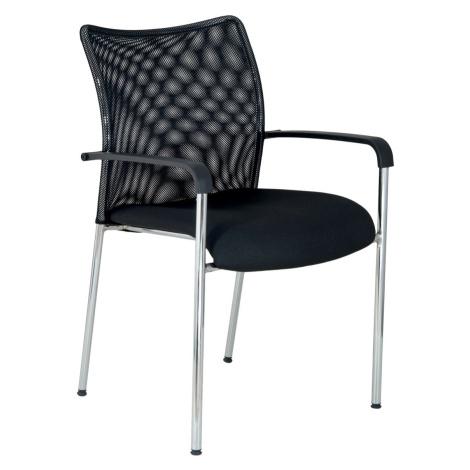 Konferenční židle TRINITY, černá