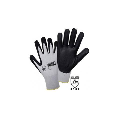 Pracovní rukavice L+D worky FOAM Nylon NITRILE 1158-7, velikost rukavic: 7, S