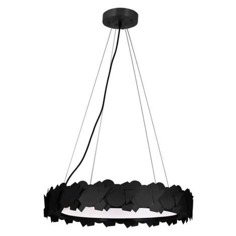 Milagro LED Lustr na lanku SOHO 1xLED/24W/230V černá