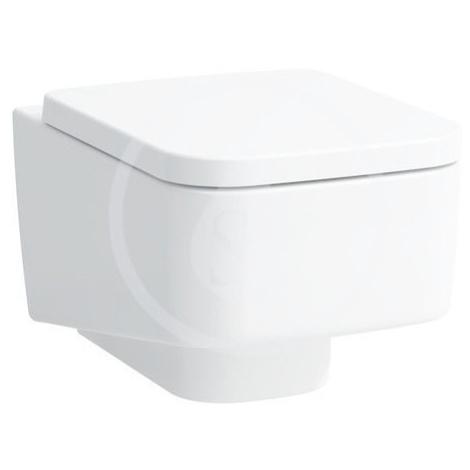 Laufen Pro S Závěsné WC, 530x360 mm, rimless, bílá H8209620000001