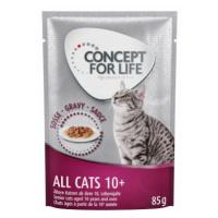 Concept for Life All Cats 10+ - v omáčce - 48 x 85 g