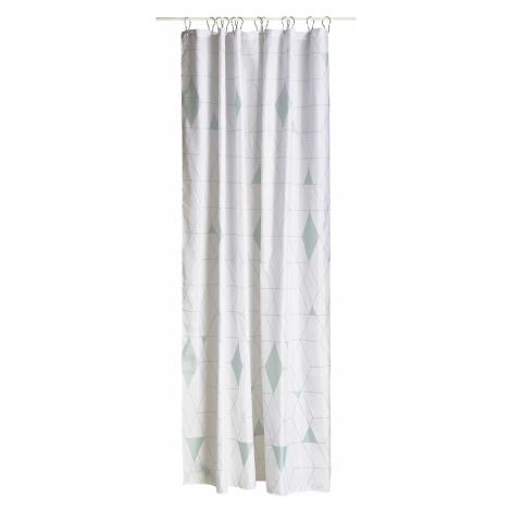 Sprchový závěs 180 x 200 cm dusty green HARLEQUIN ZONE