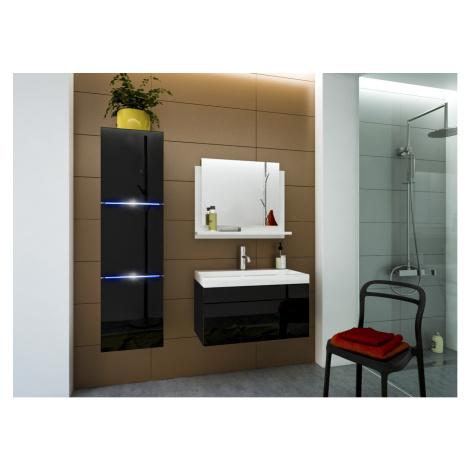 Ral Koupelnová stěna Keli 2 - Černý lesk