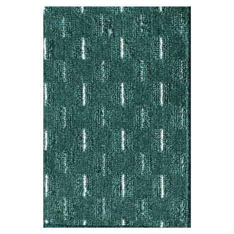 Moderní kusový koberec Valencia | zelený Typ: kulatý 100 cm Vopi