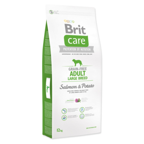 Brit Care dog Grain Free Adult Large Breed Salmon & Potato - 12kg