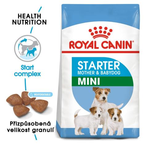 Royal Canin Mini Starter - granule pro březí nebo kojící feny a štěňata - 3kg