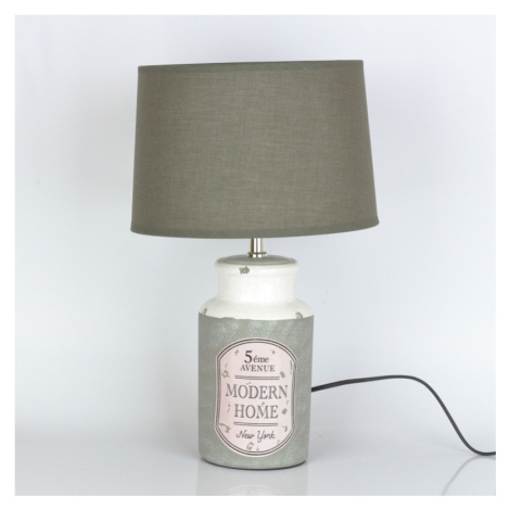 Keramická lampa MODERN HOME 45cm NOVAline